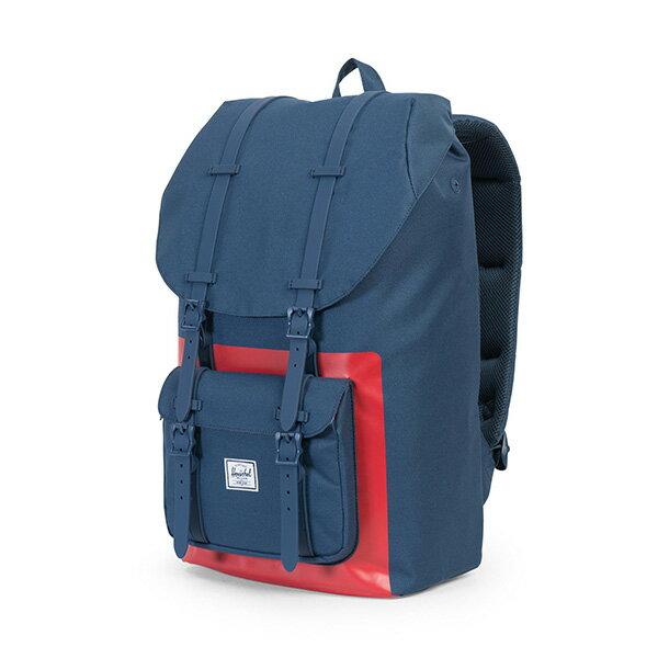 【EST】HERSCHEL LITTLE AMERICA 15吋電腦包 後背包 紅印 藍 [HS-0014-B52] G0801 2