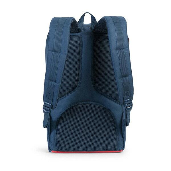 【EST】HERSCHEL LITTLE AMERICA 15吋電腦包 後背包 紅印 藍 [HS-0014-B52] G0801 3