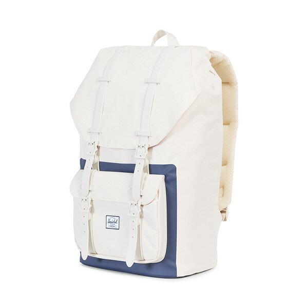 【EST】Herschel Little America 15吋電腦包 後背包 藍印 白 [HS-0014-B53] G0801 2