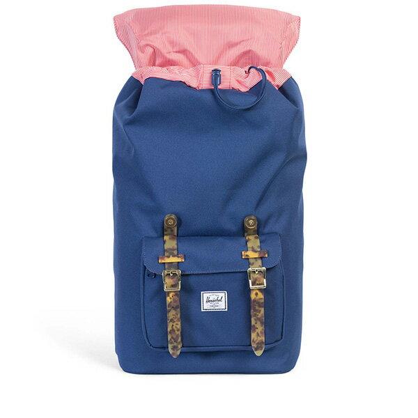 【EST】Herschel Little America 15吋電腦包 後背包 玳瑁 膠條 藍 [HS-0014-B55] G0801 1