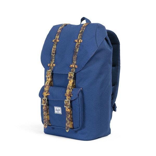【EST】HERSCHEL LITTLE AMERICA 15吋電腦包 後背包 玳瑁 膠條 藍 [HS-0014-B55] G0801 2