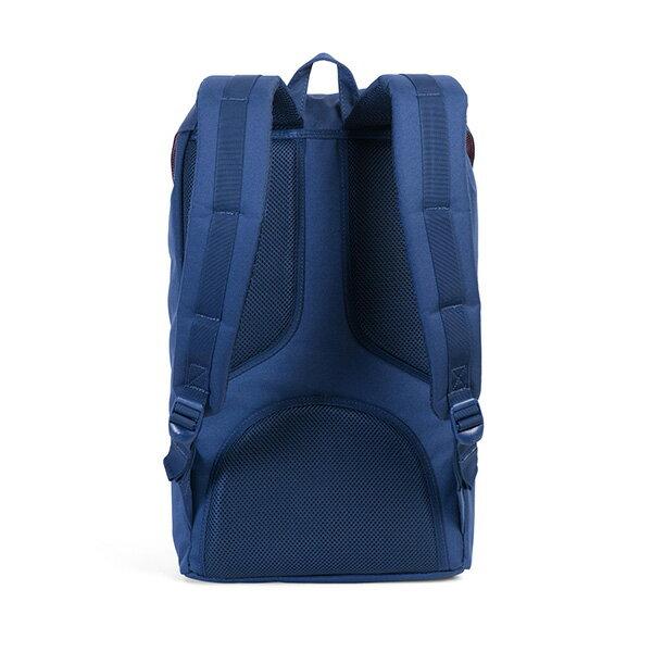 【EST】Herschel Little America 15吋電腦包 後背包 玳瑁 膠條 藍 [HS-0014-B55] G0801 3