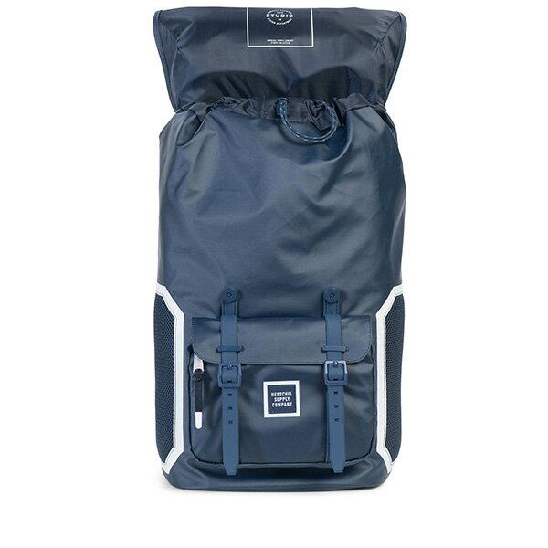 【EST】HERSCHEL LITTLE AMERICA 15吋電腦包 後背包 防水 尼龍 網布 藍 [HS-0014-B93] G0801 1