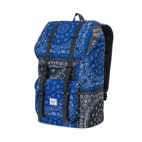 【EST】Herschel Little America 15吋電腦包 後背包 藍/黑變形蟲 [HS-0014-C50] G1012 2