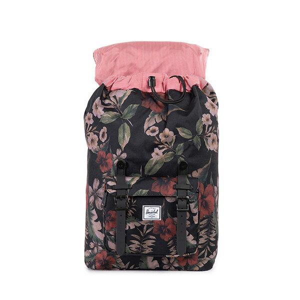 【EST】HERSCHEL LITTLE AMERICA MID 中款 13吋電腦包 後背包 花卉 [HS-0020-910] G0122 1