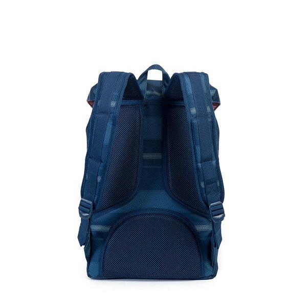 【EST】HERSCHEL LITTLE AMERICA MID 中款 13吋電腦包 後背包 條紋 藍 [HS-0020-925] G0122 3