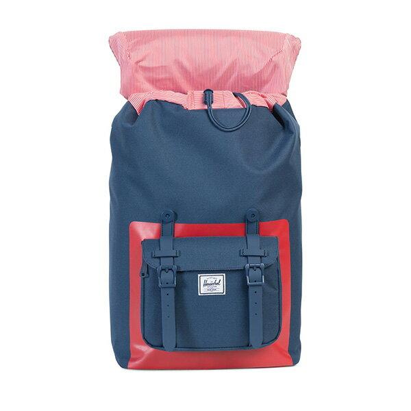 【EST】Herschel Little America Mid 中款 13吋電腦包 後背包 紅印 藍 [HS-0020-B52] G0801 1