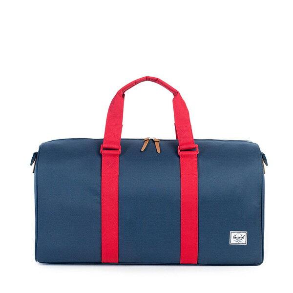【EST】HERSCHEL RAVINE 圓筒 手提袋 旅行包 藍紅 [HS-0025-018] G0122 0