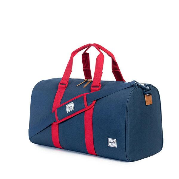 【EST】HERSCHEL RAVINE 圓筒 手提袋 旅行包 藍紅 [HS-0025-018] G0122 1