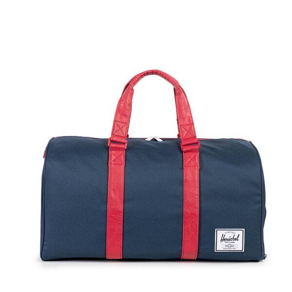 【EST】HERSCHEL NOVEL 圓筒 多功能 鞋箱 手提袋 旅行包 藍紅 [HS-0026-018] F1019 0