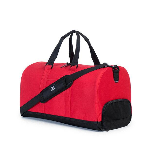 【EST】Herschel Novel 圓筒 多功能 鞋箱 手提袋 旅行袋 紅 [HS-0026-900] G0122 1