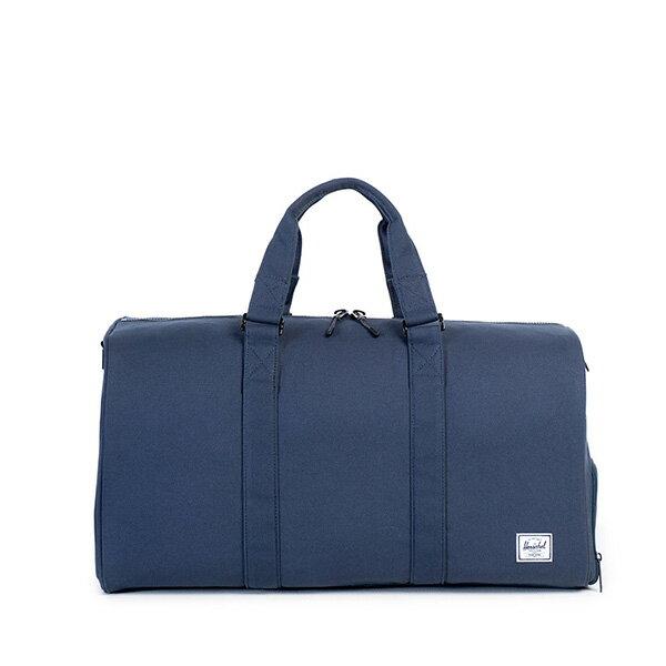 【EST】HERSCHEL NOVEL 圓筒 多功能 鞋箱 手提袋 旅行包 帆布 藍 [HS-0026-906] G0122 0
