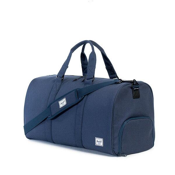 【EST】HERSCHEL NOVEL 圓筒 多功能 鞋箱 手提袋 旅行包 帆布 藍 [HS-0026-906] G0122 1