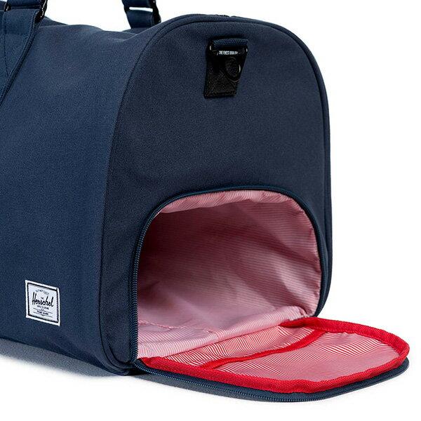 【EST】HERSCHEL NOVEL 圓筒 多功能 鞋箱 手提袋 旅行包 帆布 藍 [HS-0026-906] G0122 2