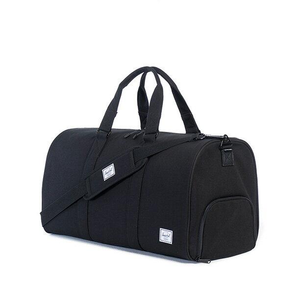 【EST】Herschel Novel 圓筒 多功能 鞋箱 手提袋 旅行袋 帆布 黑 [HS-0026-907] G0122 1