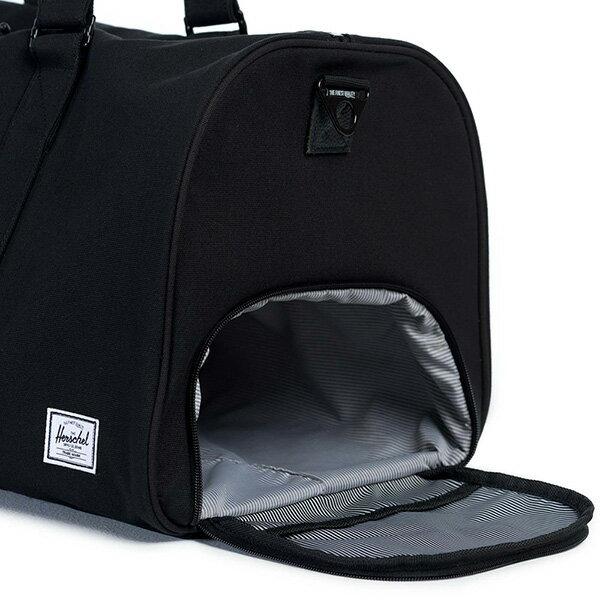 【EST】Herschel Novel 圓筒 多功能 鞋箱 手提袋 旅行袋 帆布 黑 [HS-0026-907] G0122 2