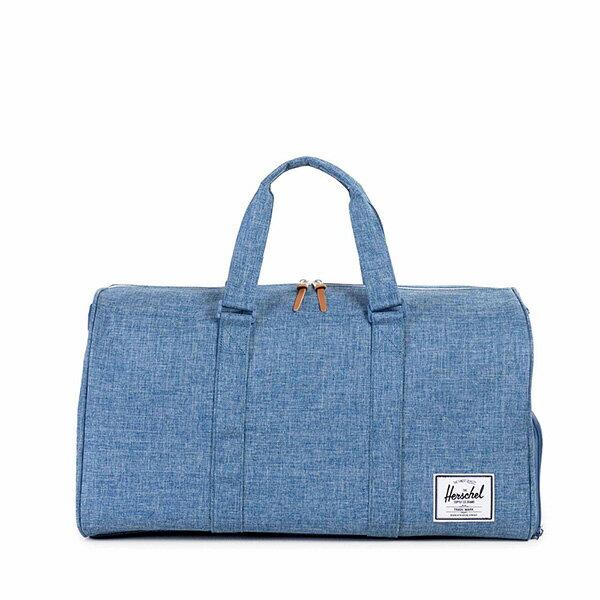 【EST】Herschel Novel 圓筒 多功能 鞋箱 手提袋 旅行袋 丹寧 藍 [HS-0026-918] G0122 0