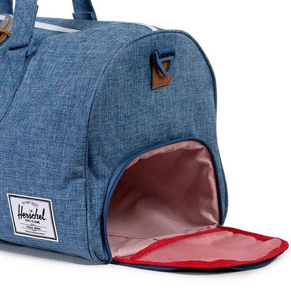 【EST】Herschel Novel 圓筒 多功能 鞋箱 手提袋 旅行袋 丹寧 藍 [HS-0026-918] G0122 2