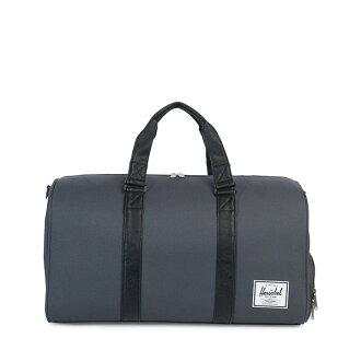 【EST】Herschel Novel 圓筒 多功能 鞋箱 手提袋 旅行袋 深灰/黑 [HS-0026-930] H0112