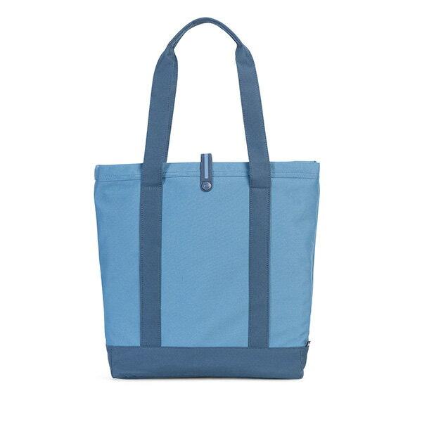 【EST】HERSCHEL MARKET 磁扣帶 托特包 購物袋 側背包 肩背包 藍 [HS-0029-A58] G0414 2