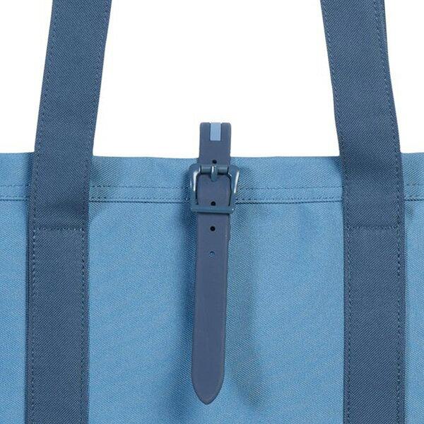【EST】HERSCHEL MARKET 磁扣帶 托特包 購物袋 側背包 肩背包 藍 [HS-0029-A58] G0414 3
