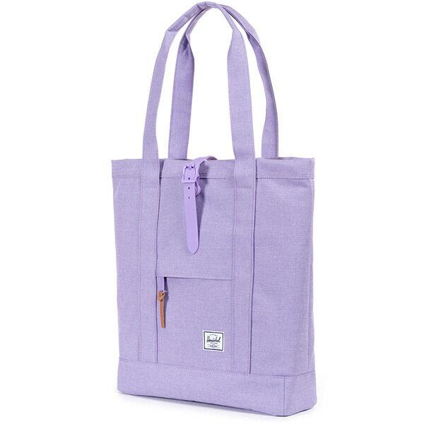 【EST】HERSCHEL MARKET 磁扣帶 托特包 購物袋 側背包 肩背包 亮紫 [HS-0029-707] G0706 1