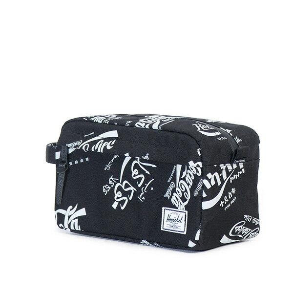 【EST】HERSCHEL CHAPTER 防水拉鍊 收納包 手拿包 可口可樂 黑 [HS-0039-990] G0122 1