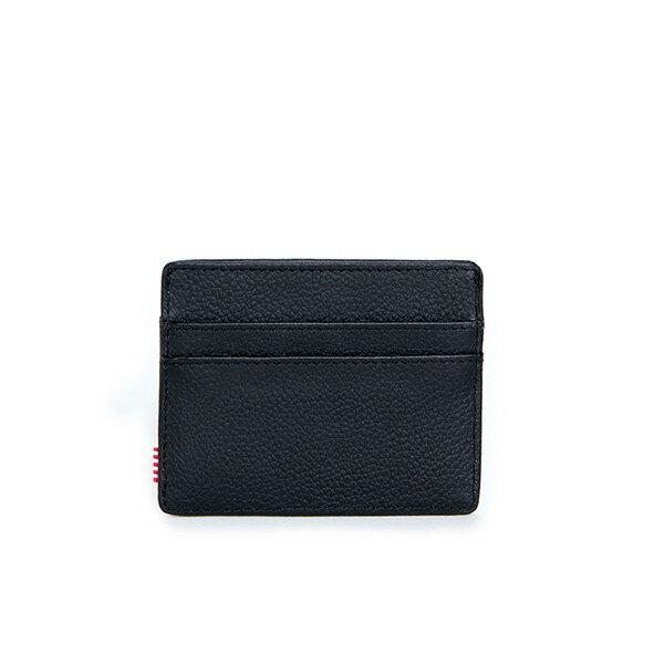 【EST】HERSCHEL CHARLIE 橫式 卡夾 名片夾 證件套 皮革 黑 [HS-0045-004] G0414 1