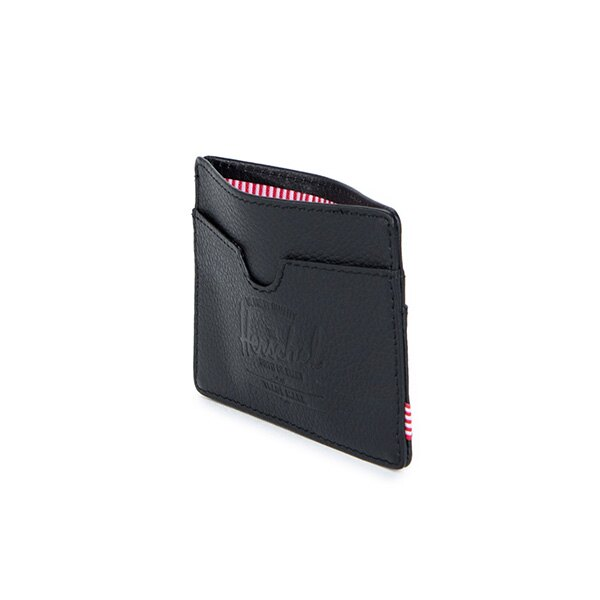 【EST】HERSCHEL CHARLIE 橫式 卡夾 名片夾 證件套 皮革 黑 [HS-0045-004] G0414 3