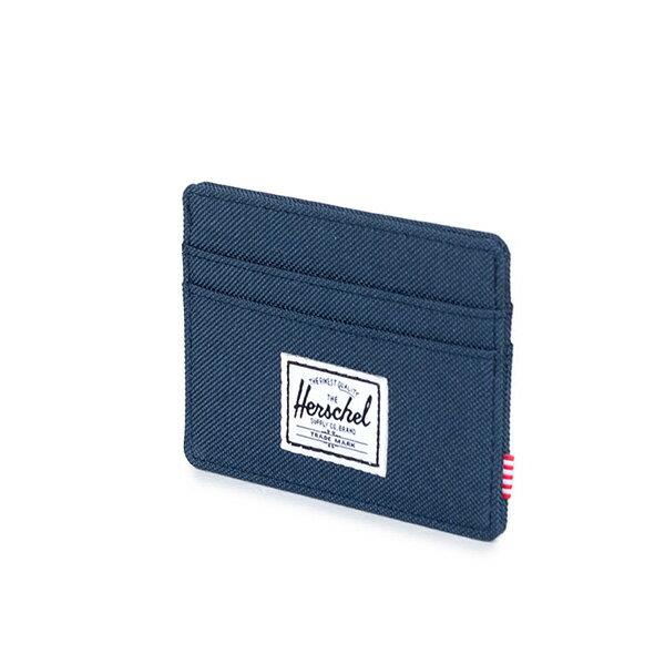 【EST】Herschel Charlie 橫式 卡夾 名片夾 證件套 藍 [HS-0045-007] G0122 1