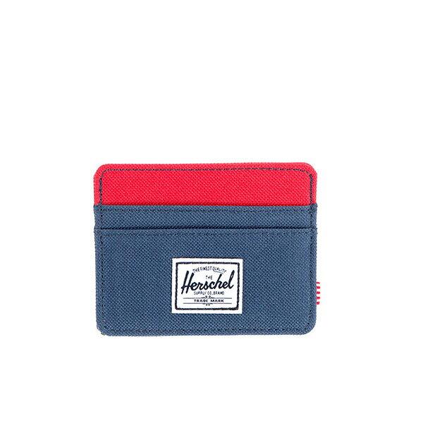 【EST】HERSCHEL CHARLIE 橫式 卡夾 名片夾 證件套 藍紅 [HS-0045-018] G0122 0