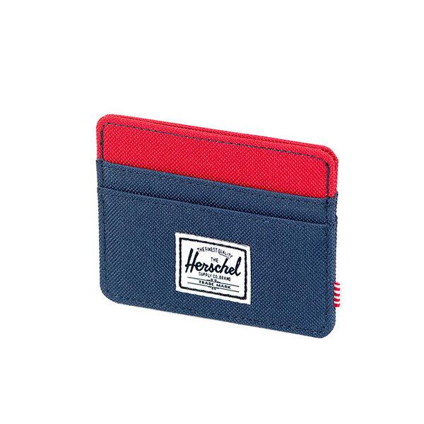 【EST】HERSCHEL CHARLIE 橫式 卡夾 名片夾 證件套 藍紅 [HS-0045-018] G0122 2