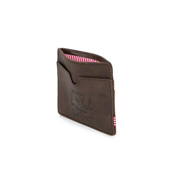 【EST】Herschel Charlie 橫式 卡夾 名片夾 證件套 皮革 棕 [HS-0045-037] G0414 3