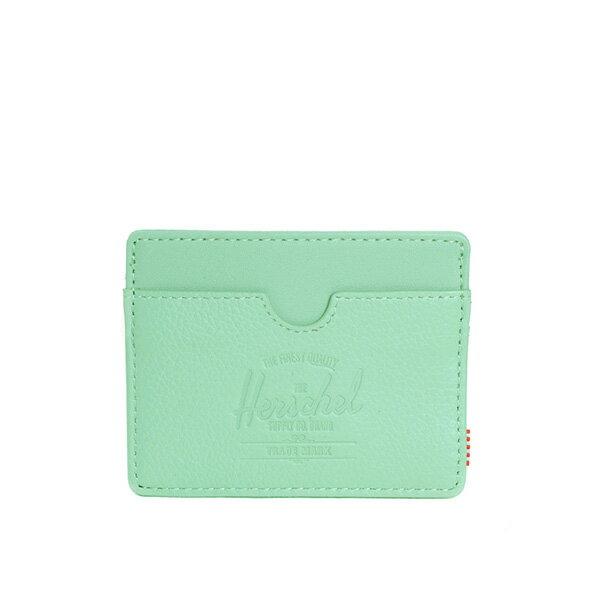 【EST】HERSCHEL CHARLIE 橫式 卡夾 名片夾 證件套 果綠 [HS-0045-638] G0706 0