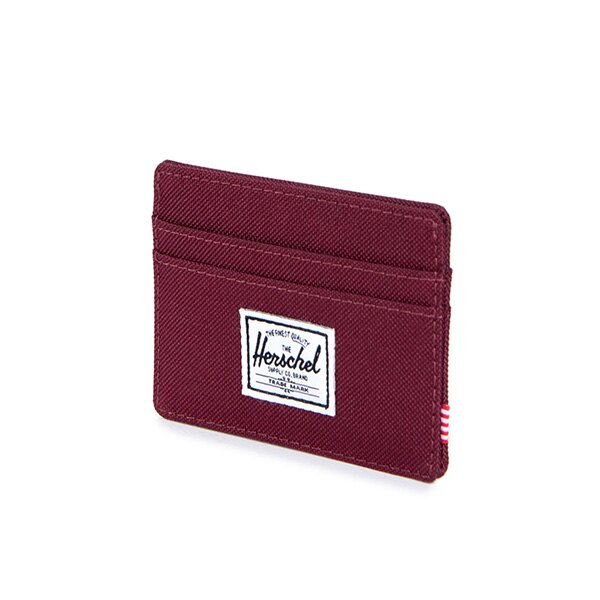 【EST】HERSCHEL CHARLIE 橫式 卡夾 名片夾 證件套 酒紅 [HS-0045-746] G0706 2