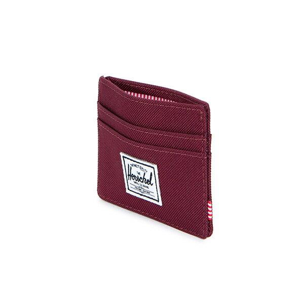 【EST】Herschel Charlie 橫式 卡夾 名片夾 證件套 酒紅 [HS-0045-746] G0706 3
