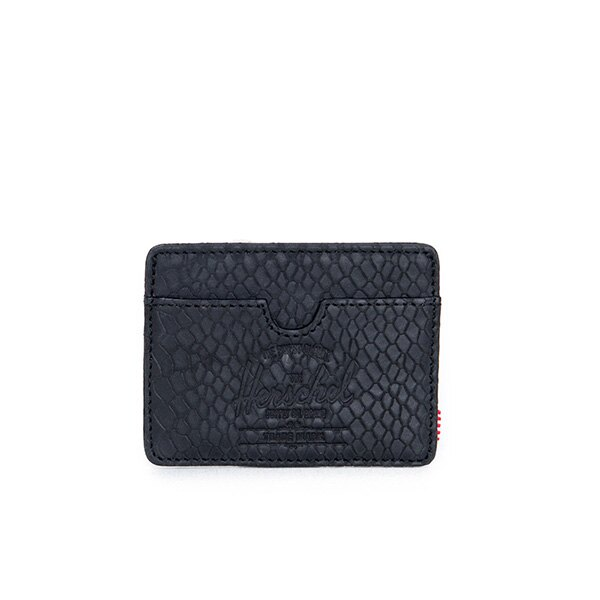 【EST】HERSCHEL CHARLIE 橫式 卡夾 名片夾 證件套 蛇紋 [HS-0045-876] G0706 0
