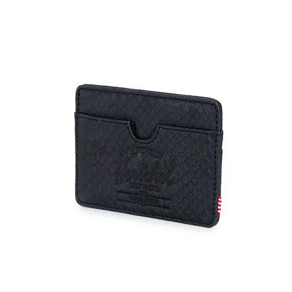 【EST】HERSCHEL CHARLIE 橫式 卡夾 名片夾 證件套 蛇紋 [HS-0045-876] G0706 2