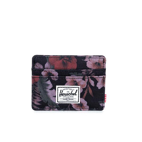 【EST】HERSCHEL CHARLIE 橫式 卡夾 名片夾 證件套 花卉 [HS-0045-910] G0122 0