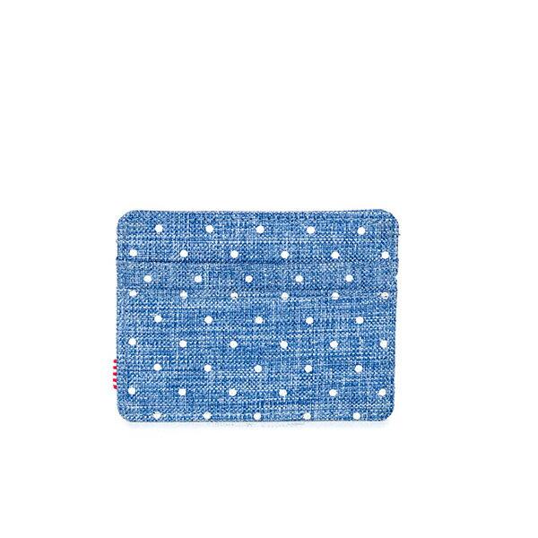 【EST】Herschel Charlie 橫式 卡夾 名片夾 證件套 丹寧 點點 [HS-0045-912] G0706 2