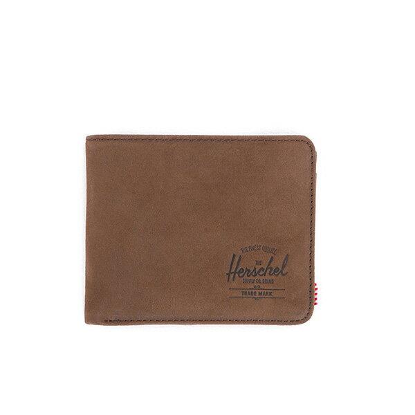 【EST】HERSCHEL HANK WALLET 短夾 皮夾 錢包 皮革 棕 [HS-0049-037] G0122 0