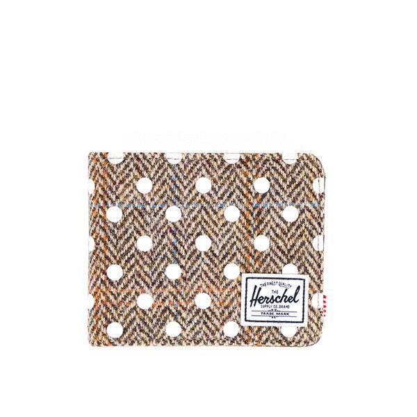 【EST】Herschel Hank Wallet 短夾 皮夾 錢包 毛呢 點點 白 [HS-0049-526] G0706