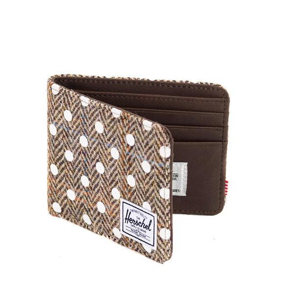 【EST】Herschel Hank Wallet 短夾 皮夾 錢包 毛呢 點點 白 [HS-0049-526] G0706 1