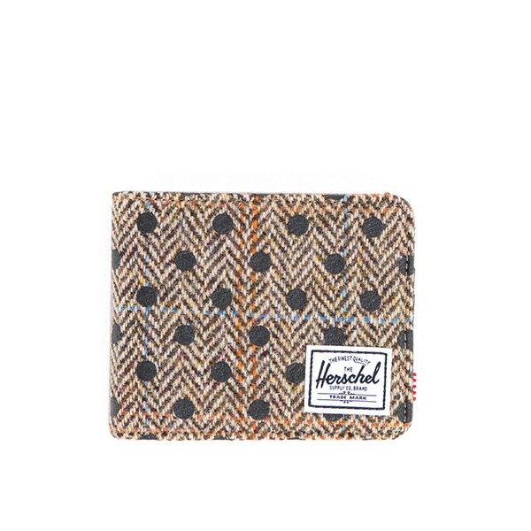 【EST】Herschel Hank Wallet 短夾 皮夾 錢包 毛呢 點點 黑 [HS-0049-527] G0706 0