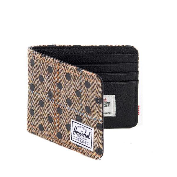 【EST】Herschel Hank Wallet 短夾 皮夾 錢包 毛呢 點點 黑 [HS-0049-527] G0706 1