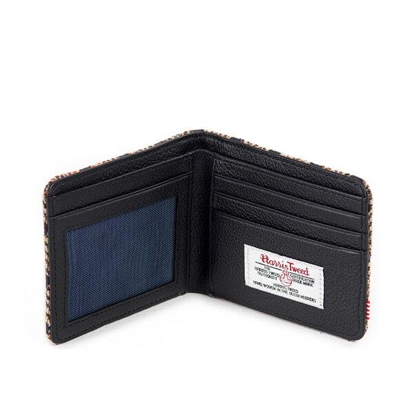 【EST】Herschel Hank Wallet 短夾 皮夾 錢包 毛呢 點點 黑 [HS-0049-527] G0706 2