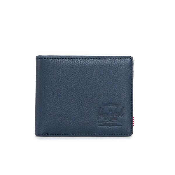 【EST】Herschel Hank Wallet 短夾 皮夾 錢包皮革 藍 [HS-0049-776] G0414 0
