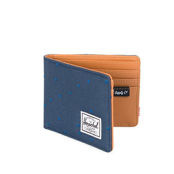 【EST】Herschel Hank Wallet 短夾 皮夾 錢包 藍點點 [HS-0049-C73] G1012 1