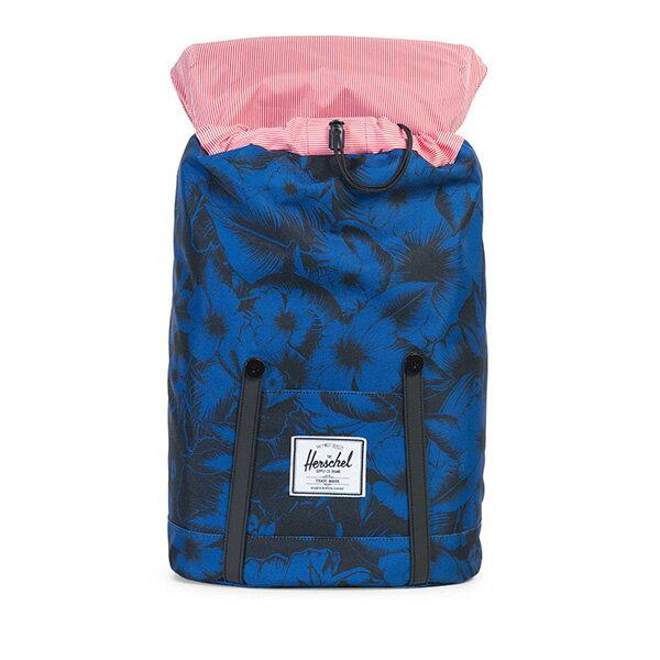【EST】Herschel Retreat 15吋電腦包 後背包 叢林 花卉 藍 [HS-0066-A56] G0706 1