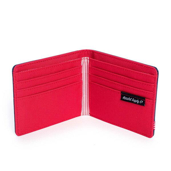 【EST】Herschel Roy Wallet 短夾 皮夾 錢包 藍紅 [HS-0069-018] G0414 2